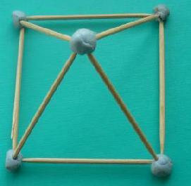 quadratische pyramide. Black Bedroom Furniture Sets. Home Design Ideas