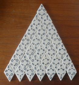 Triominos 76 Steine